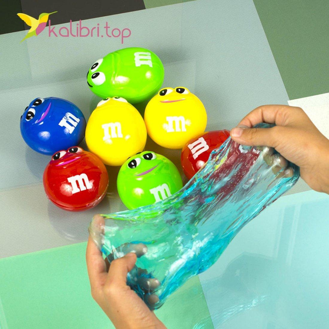 Детская игрушка лизун M&M оптом фото 06