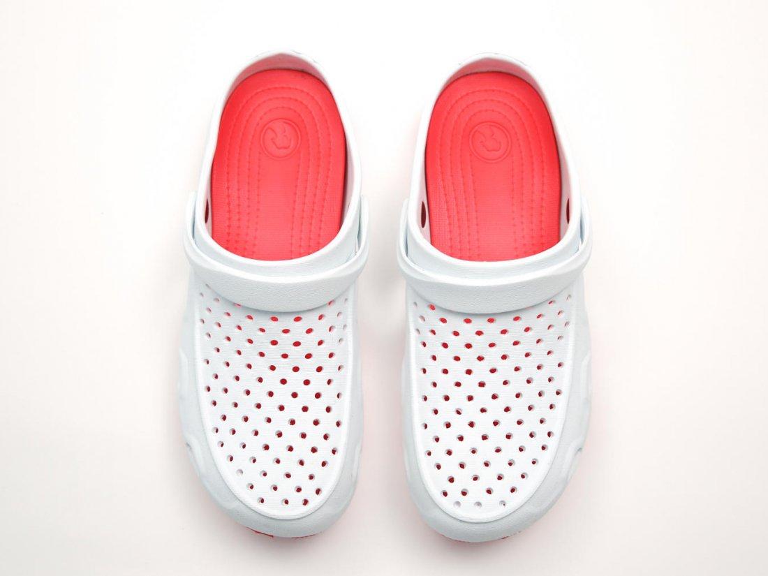 Белые кроксы оптом C04-45, 4rest, мужская обувь оптом, фото 2