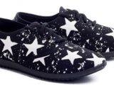 Женские кеды оптом 20-17-12 W черные, 4rest, обувь оптом