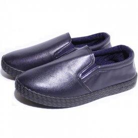 Детские слипоны оптом 11-101 С синие, 4rest, обувь оптом - фото 1