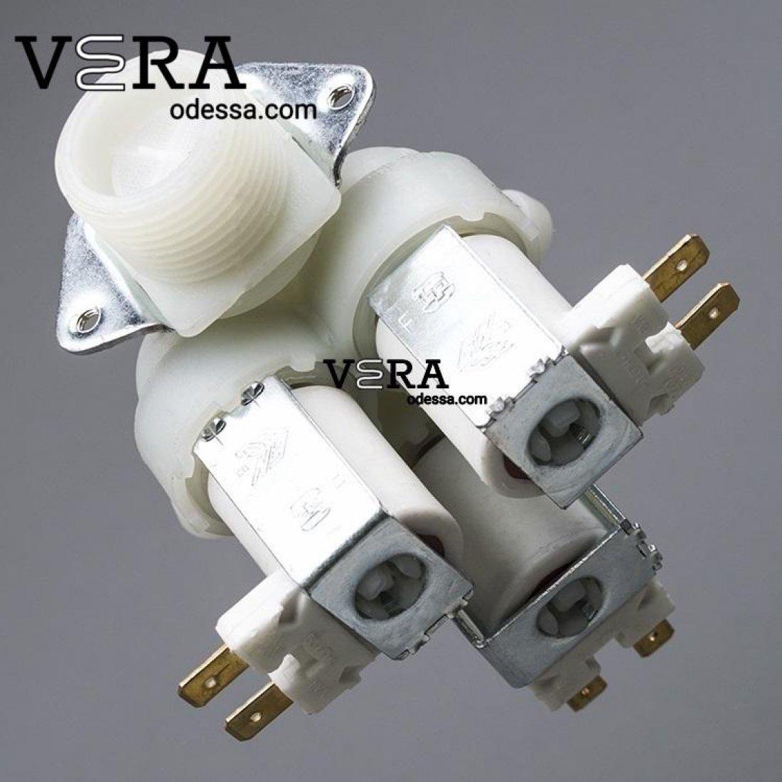 Купити клапан на пральну машину універсальний 3/180 оптом, фотографія 1