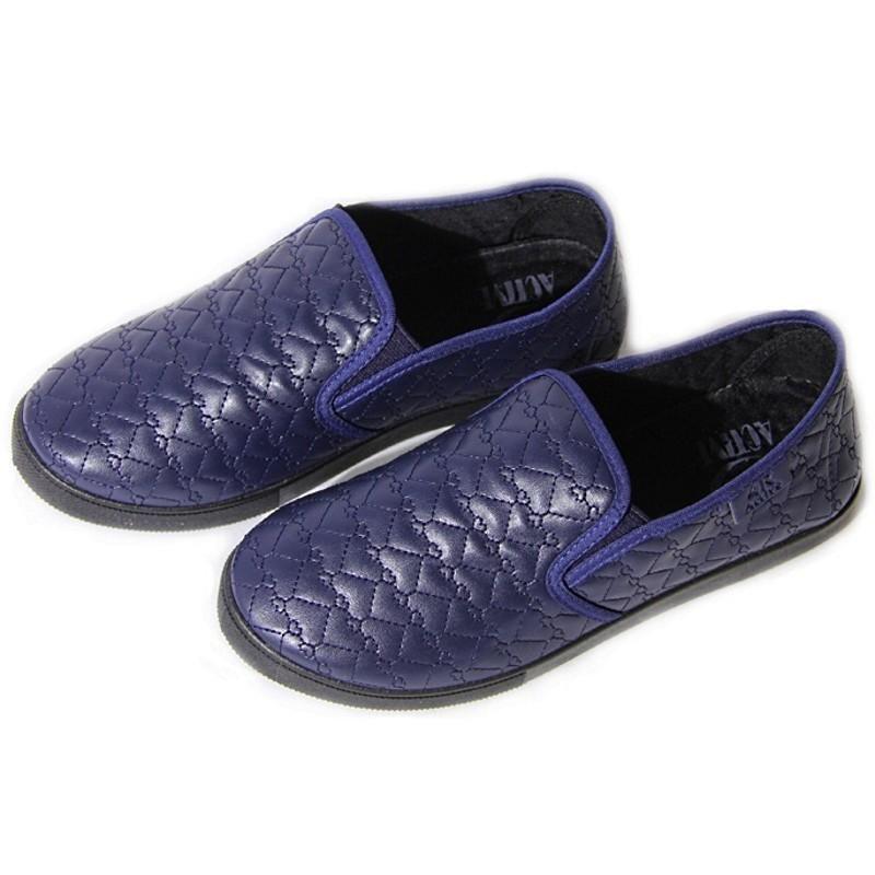 Женские слипоны оптом 27/2-03 PUW синие (36-41), 4rest, обувь оптом, фото - 3