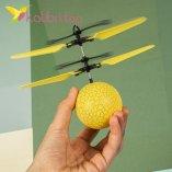 Летающий, светящийся шар Flying Ball желтый оптом фото 12