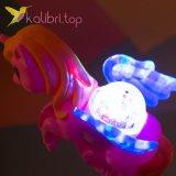 Светящиеся микрофон LED Единорог, оптом фото3