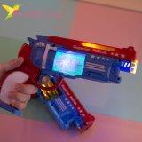Детский, светящийся пистолет Блок оптом фото 2