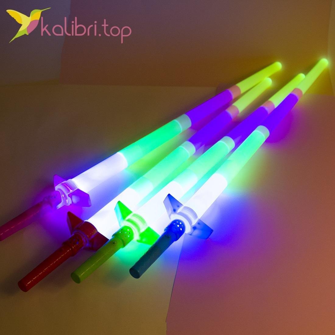 Детский меч музыкальный, светящийся Джидая, оптом - фото 3