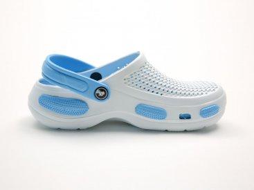 Белые кроксы оптом C07-45, 4rest, мужская обувь оптом, фото 1