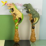 Игрушечные светящиеся микрофоны Динозавры оптом фото 1
