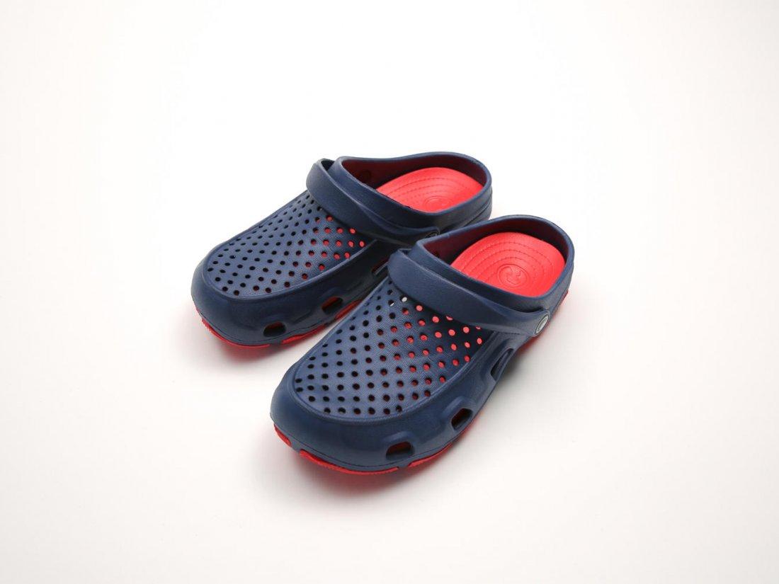 Синие кроксы оптом C22-40, 4rest, женская обувь оптом, фото 2