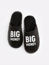 Мужские домашние тапочки Big Money черные закрытые, Family Story - 2