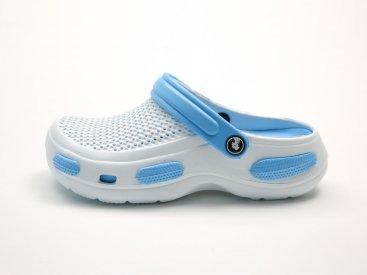 Белые кроксы оптом C07-40, 4rest, женская обувь оптом, фото 1