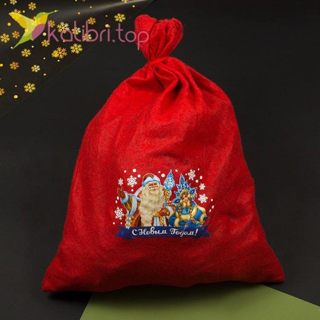Мешок для подарков большой, оптом фото 1