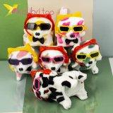 Собачки ходилки светящиеся с микрофоном цветные оптом фото 3698