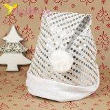 Новогодние Шапки Деда Мороза серые HQ-22 оптом фото 1522