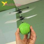 Летающий, светящийся шар Flying Ball зеленый оптом фото 25
