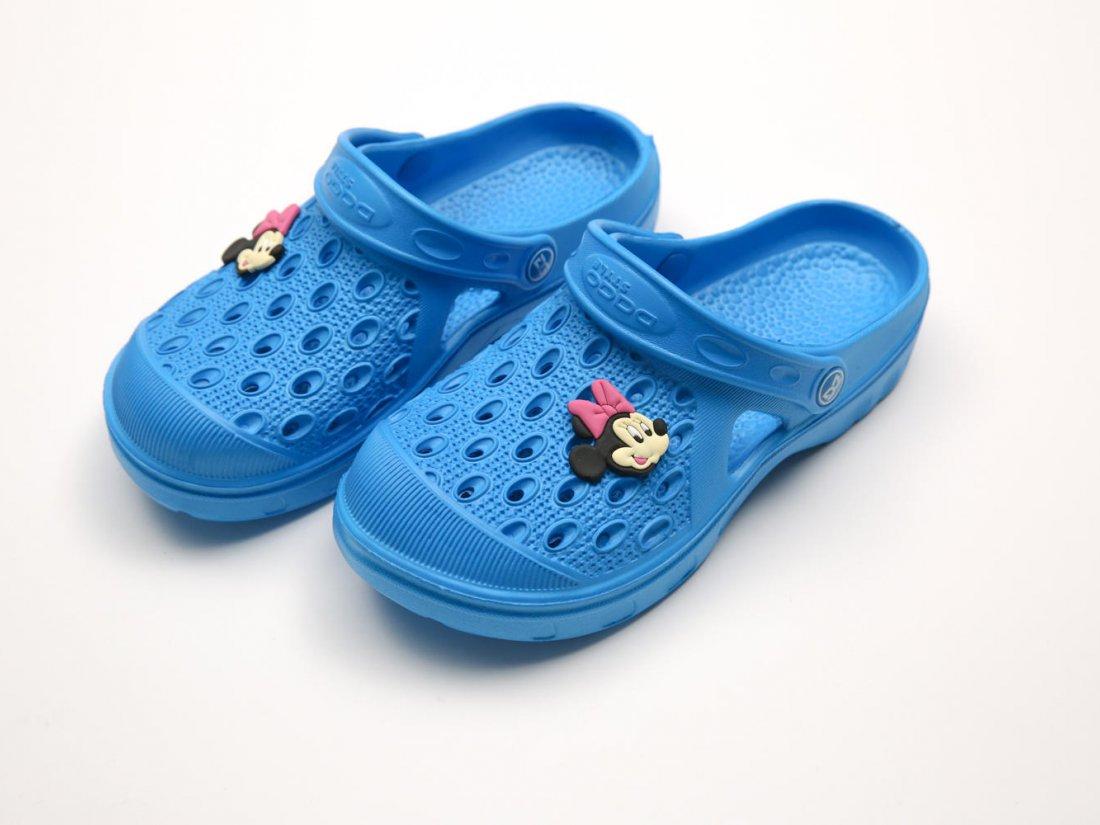 Голубые кроксы оптом C13-34, 4rest, детская обувь оптом, фото 2