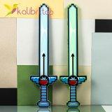 Пиксельный меч Майнкрафт светящийся, звуковой оптом фото 0133