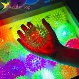 Мячики ёжики светящиеся маленькие оптом фото 2