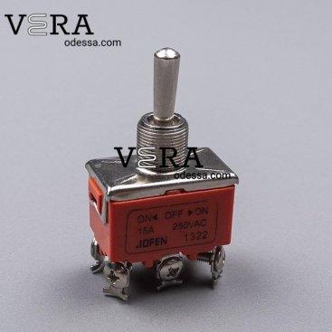 Купить кнопки переключатели тумблеры 1322 15 А оптом, фотография 1