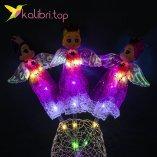 Светодиодные палочки девочки принцессы малиновые оптом фото 154
