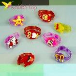 Детские светящиеся браслеты Микс оптом фото 1
