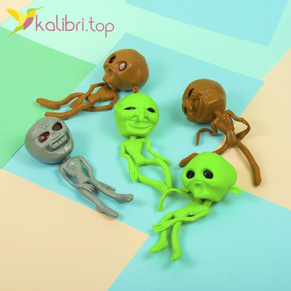 Детская игрушка антистресс Скелет - фото 1