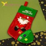 Сапожок для подарков большой с Дедом Морозом, оптом фото 1