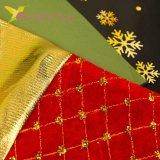 Носок для подарков большой с золотом микс, оптом фото 2