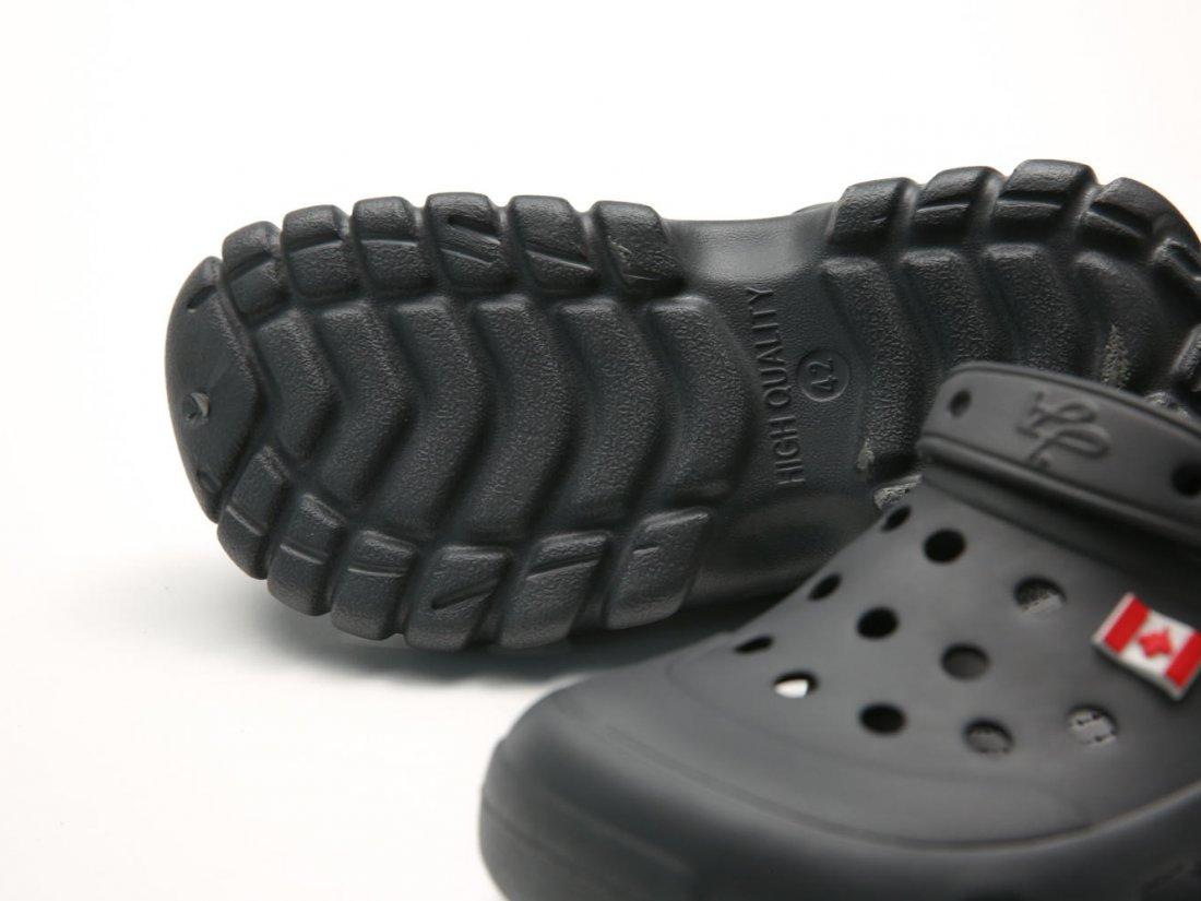 Графитовые кроксы оптом C23-45, 4rest, мужская обувь оптом, фото 1