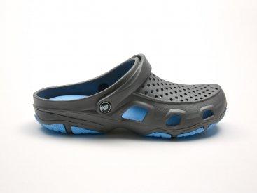 Графитовые кроксы оптом C21-45, 4rest, мужская обувь оптом, фото 1