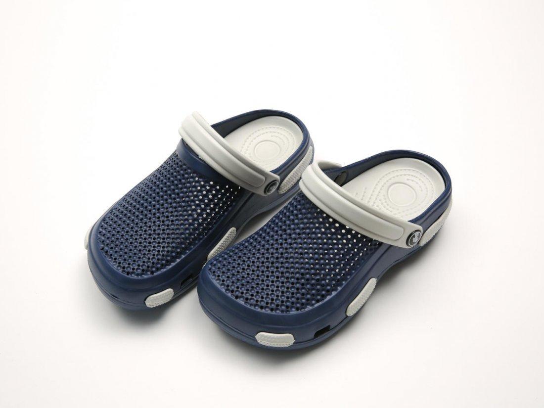 Синие кроксы оптом C19-40, 4rest, женская обувь оптом, фото 3