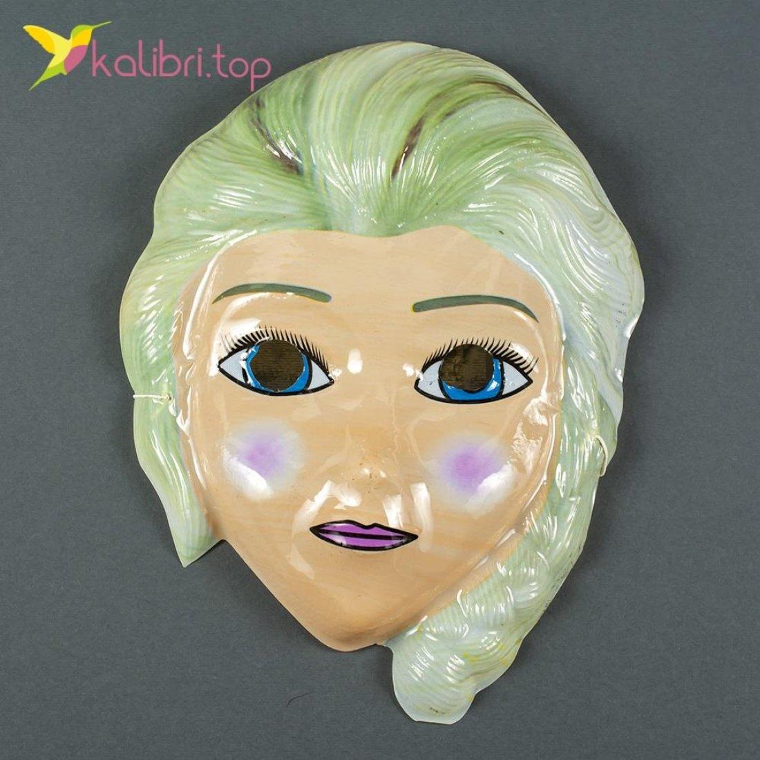Карнавальная детская маска Эльза оптом фото 714