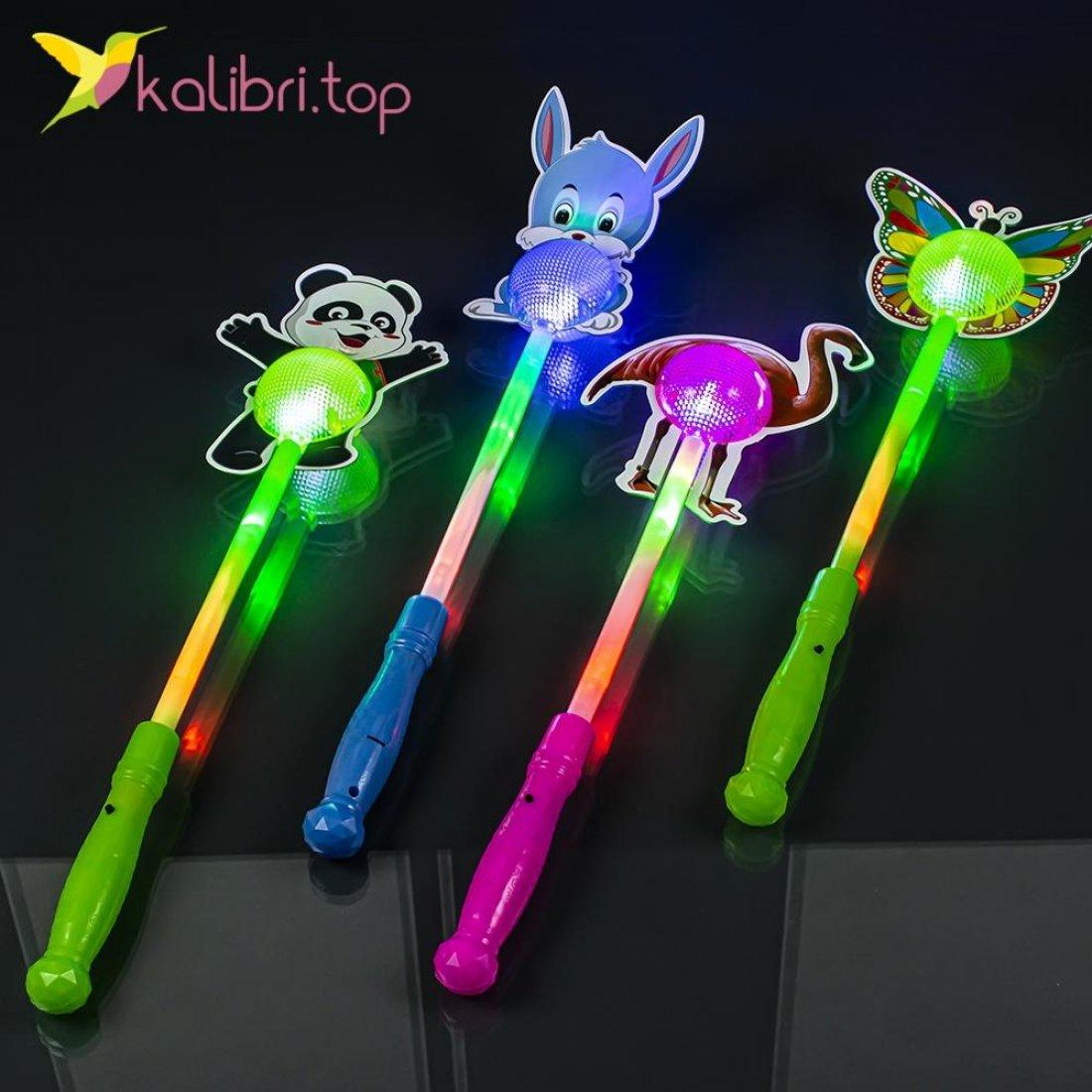 Светящиеся палочки Веселые животные, оптом - фото 2