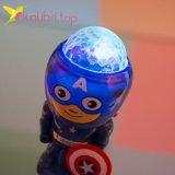 Светящийся микрофон Капитан Америка оптом фотография 3