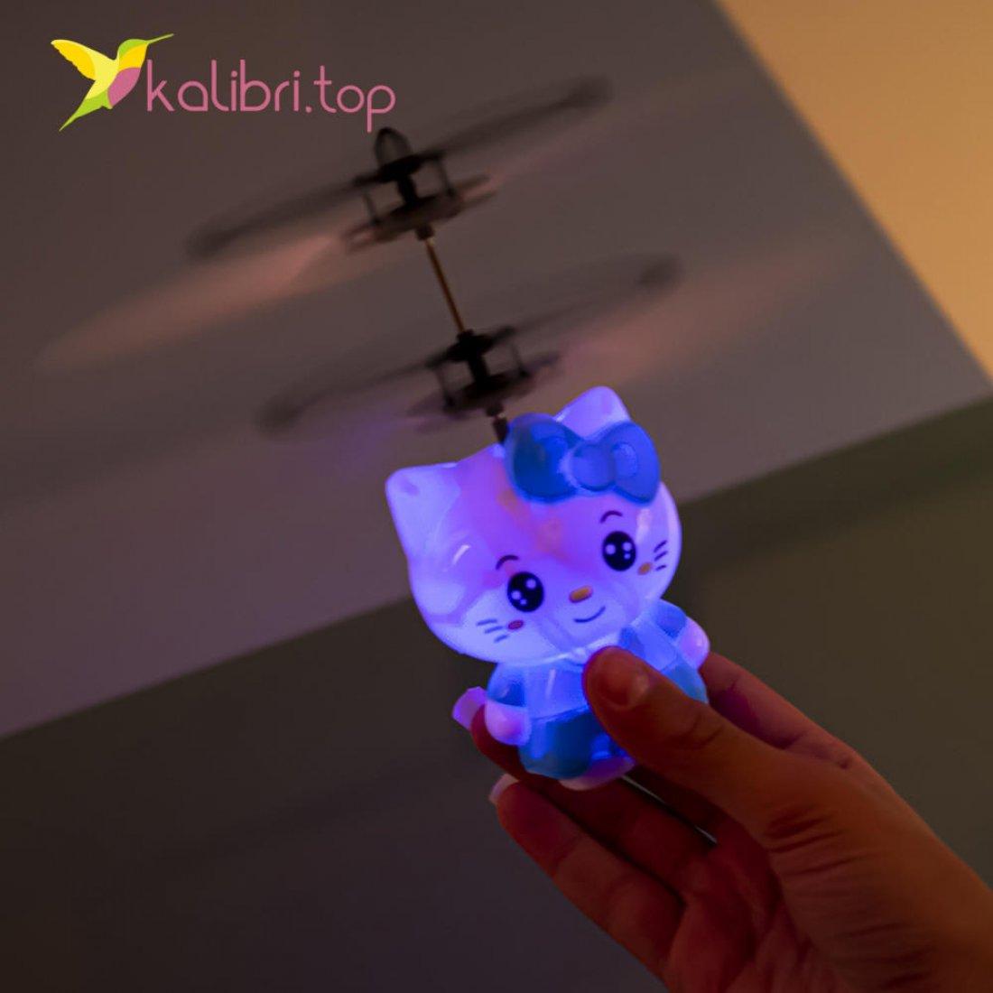 Сенсорная летающая игрушка Китти оптом фото 095