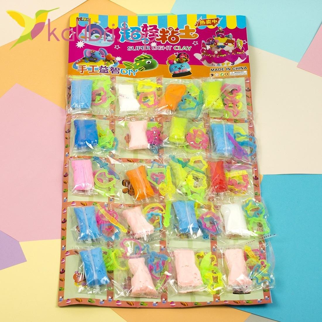 Детский воздушный пластилин Аппликатор оптом - фото 1