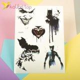 Детские татуировки для мальчиков - Бэтмен, Росомаха, Джокер оптом фото 1