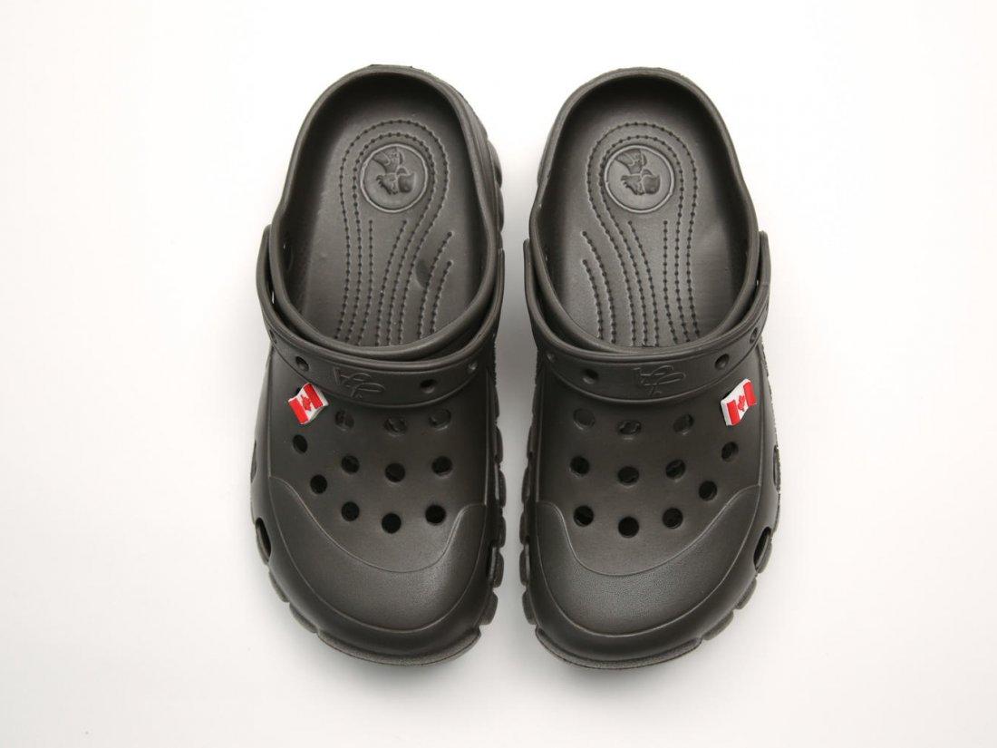 Черные кроксы оптом C26-45, 4rest, мужская обувь оптом, фото 2