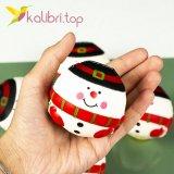 Игрушка сквиш снеговик оптом фото 25