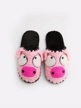 Домашние тапочки с мордочкой Свинки, Family Story - 2