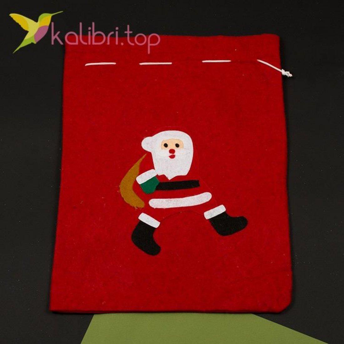 Мешок Санта Клауса для подарков, оптом фото 6