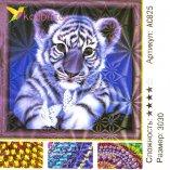 Алмазная мозаика по номерам Тигренок 30*30 см оптом фото 61