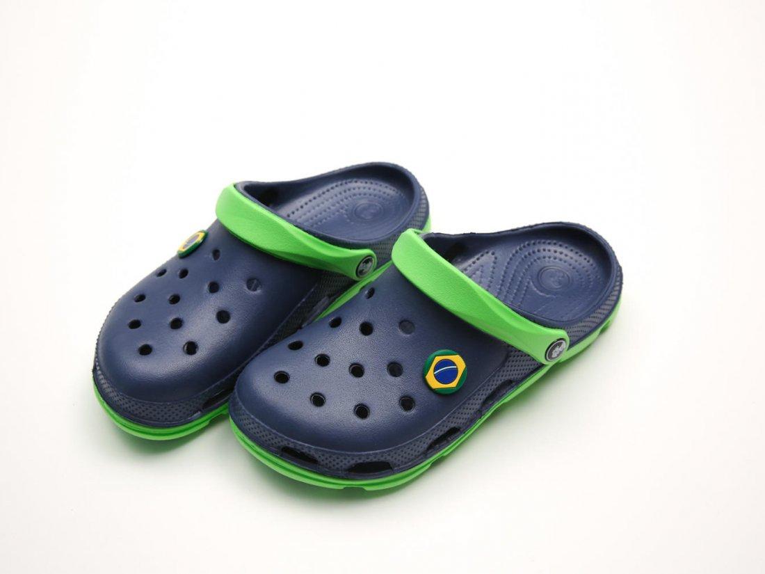 Синие кроксы оптом C28-40, 4rest, женская обувь оптом, фото 2