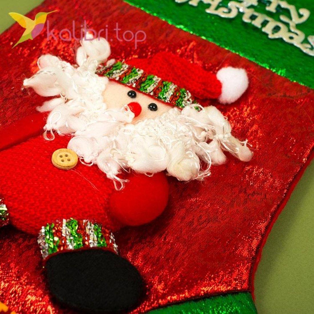 Сапожок для подарков большой микс 2, оптом фото 2
