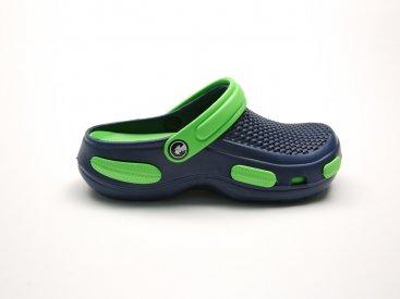 Синие кроксы оптом C24-45, 4rest, мужская обувь оптом, фото 1