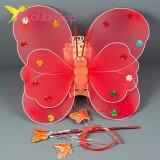 Набор карнавальный крылья феи красный, оптом фото 1