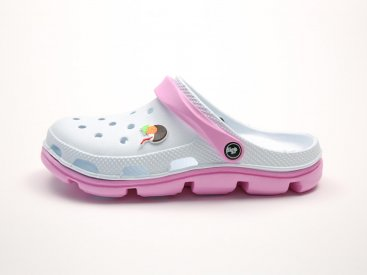 Белые кроксы оптом C02, 4rest, женская обувь оптом, фото 1