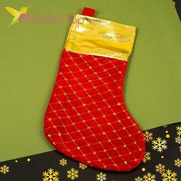Носок для подарков большой, оптом фото 1