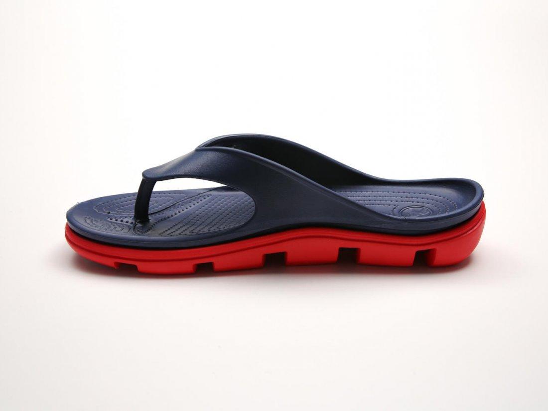 Синие кроксы вьетнамки C30-40, 4rest, женская обувь оптом, фото 1