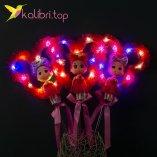 Светящиеся палочки куколки малиновый оптом фото 22